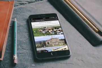 Tuscan wine resort applicazione mobile