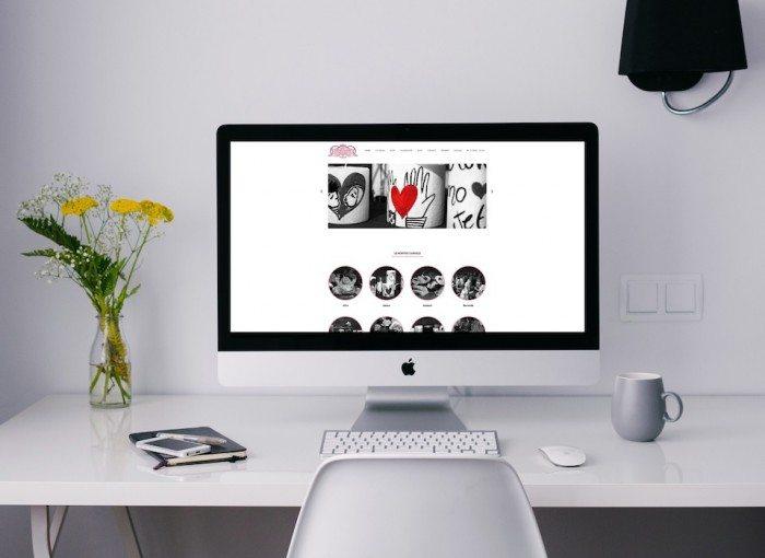 sito di e-commerce per La Fabbrica delle candele