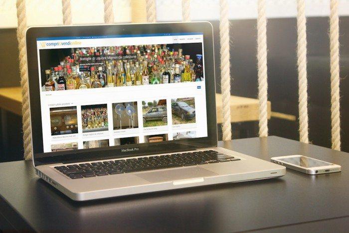 Sito di e-commerce compri e vendi online