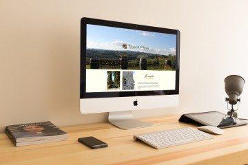 Realizzazione del sito web responsive Castel di Pugna
